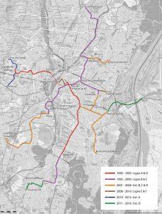 Plan d'ensemble du réseau